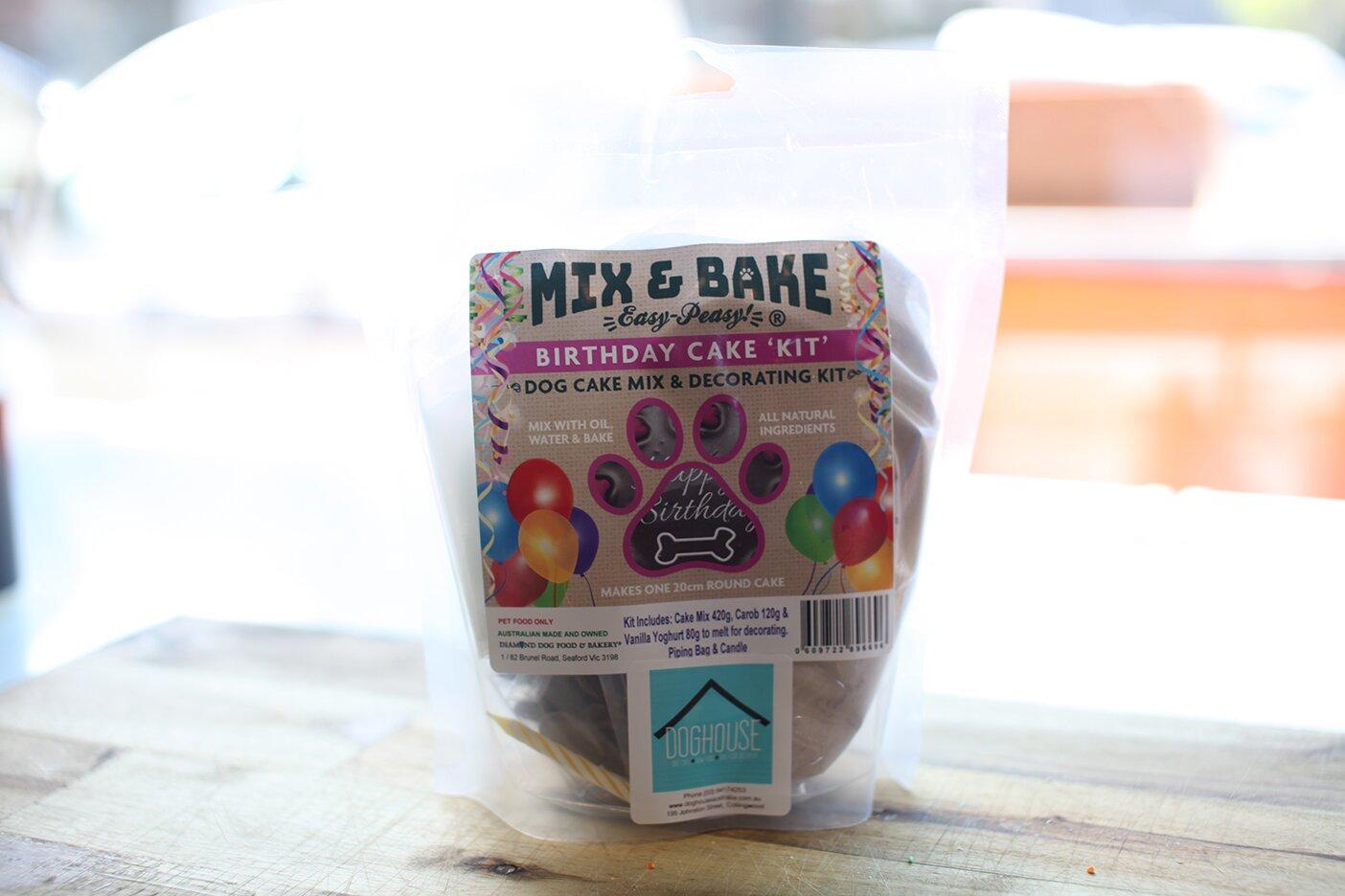 Diamond Dog Mix N Bake Birthday Cake